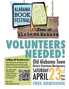 The 11th Annual Alabama Book Festival