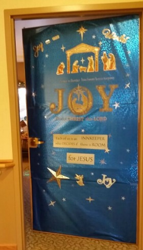 Hospice Home Door Decorating