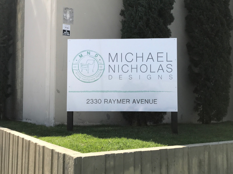 Monument Sign