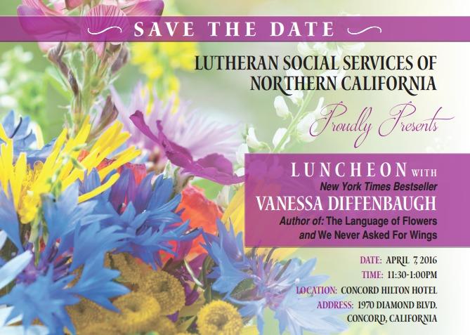 Vanessa Diffenbaugh Luncheon!