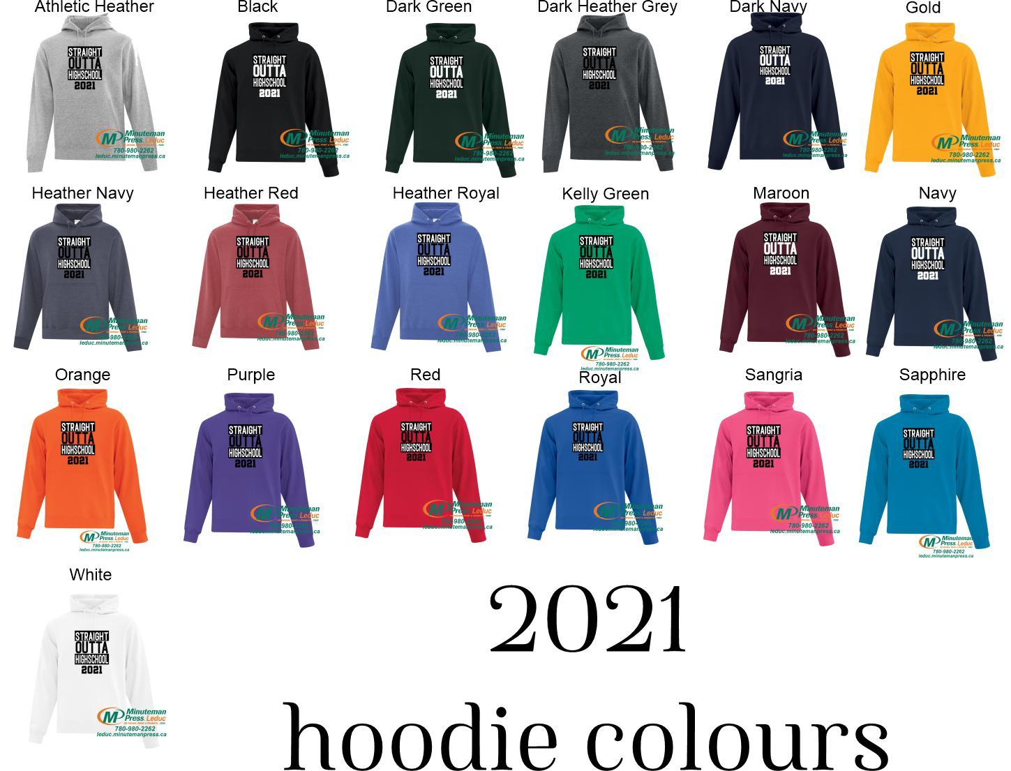 Straight Outta Highschool 2021 - Super comfortable hoodies