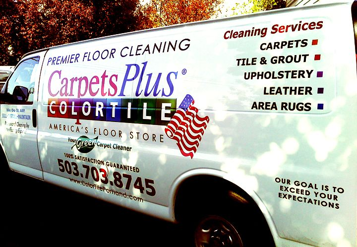 Colortile full color van graphics
