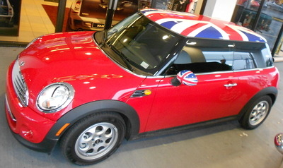 Minicooper Custom Graphics 2