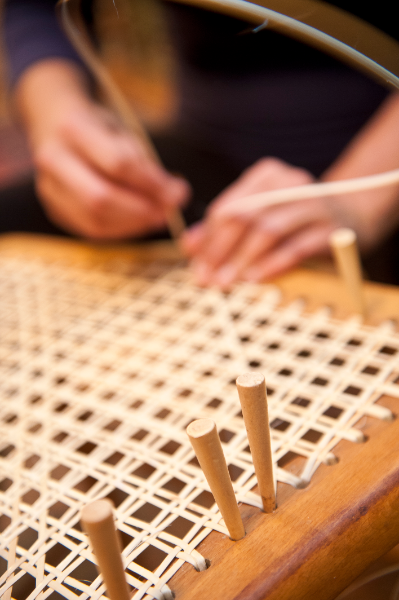 Crafting with the Southern Highland Craft Guild: Intro to Lace Chair Caning