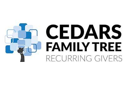 Join the CEDARS Family Tree of Recurring Givers