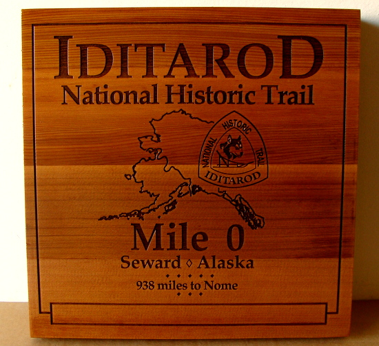 G16122 - Cedar Wood Iditarod National Historical Trail, Mile 0