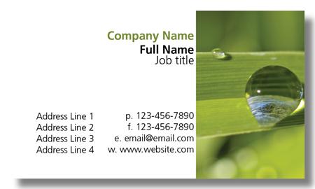 Model #002: Kwik Kopy Design and Print Centre Halifax Business Cards