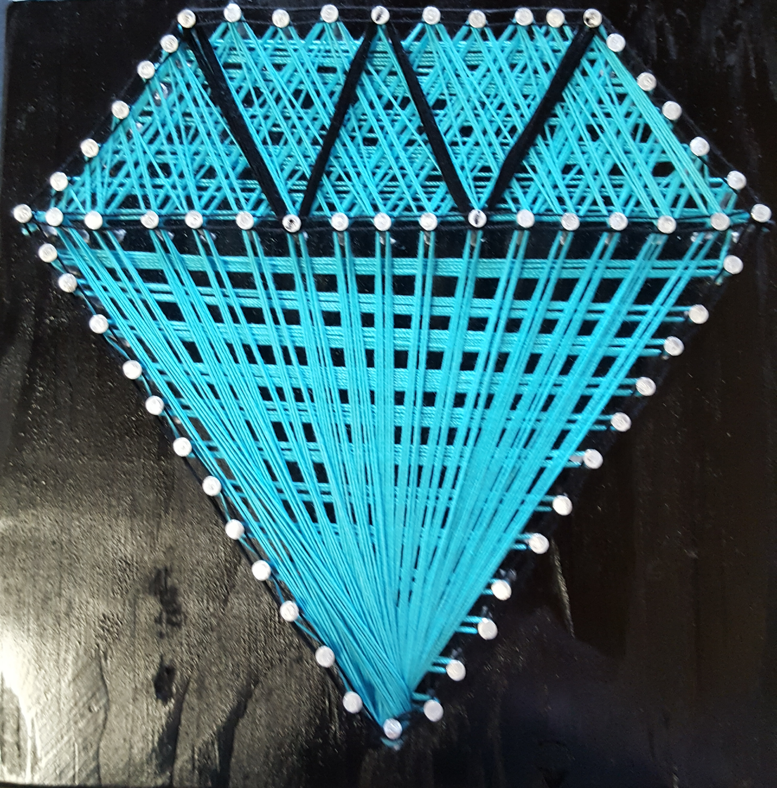 Diamond String Art