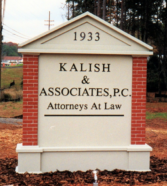 A10153 - Law Office Monument Sign