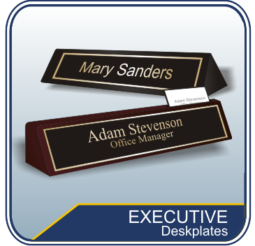 Executive Desk Name Plates