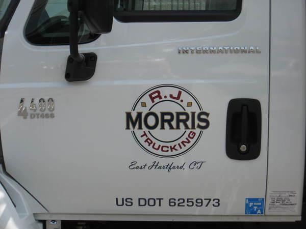 Truck Door Lettering & Graphics