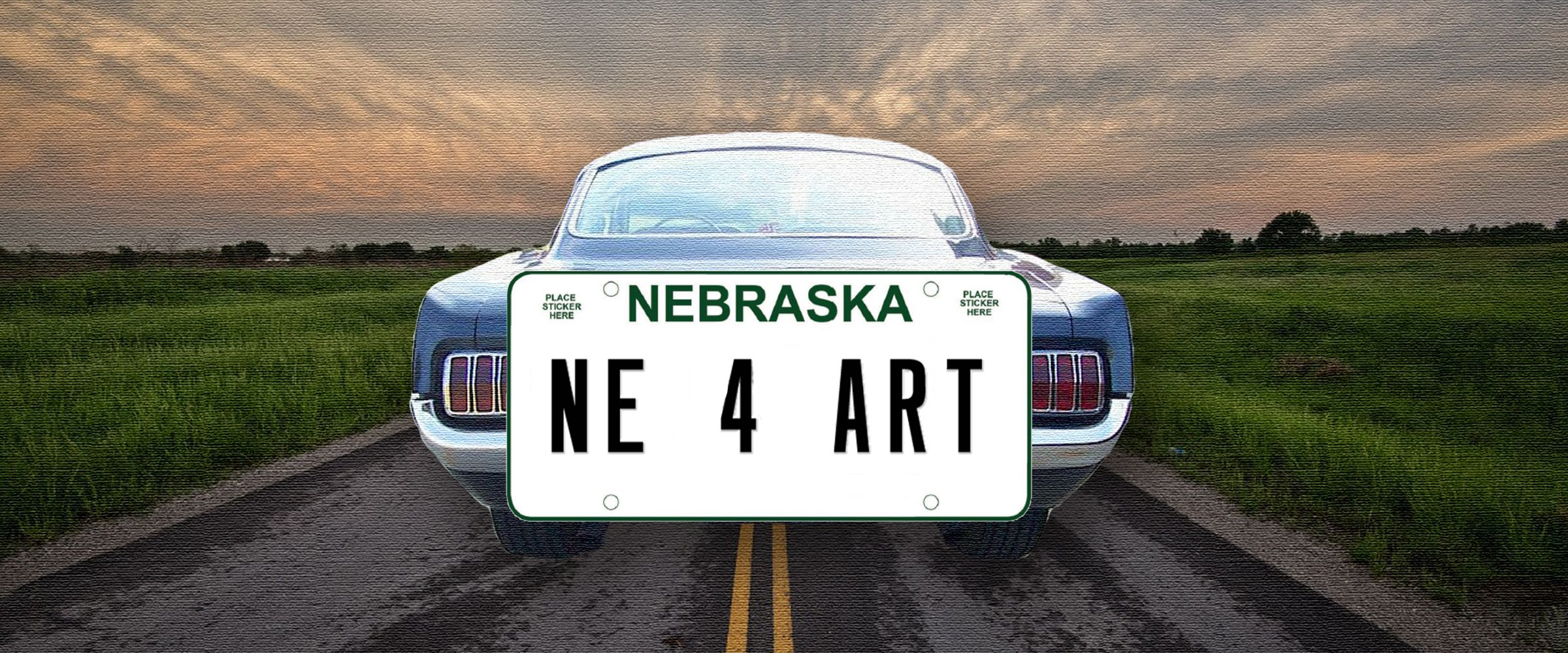 SUPPORT THE ARTS LICENSE PLATE