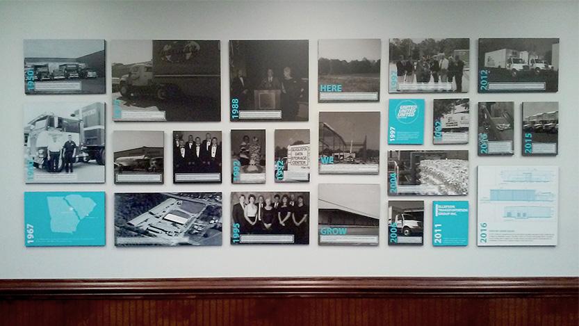 ADSI Timeline Foam Prints