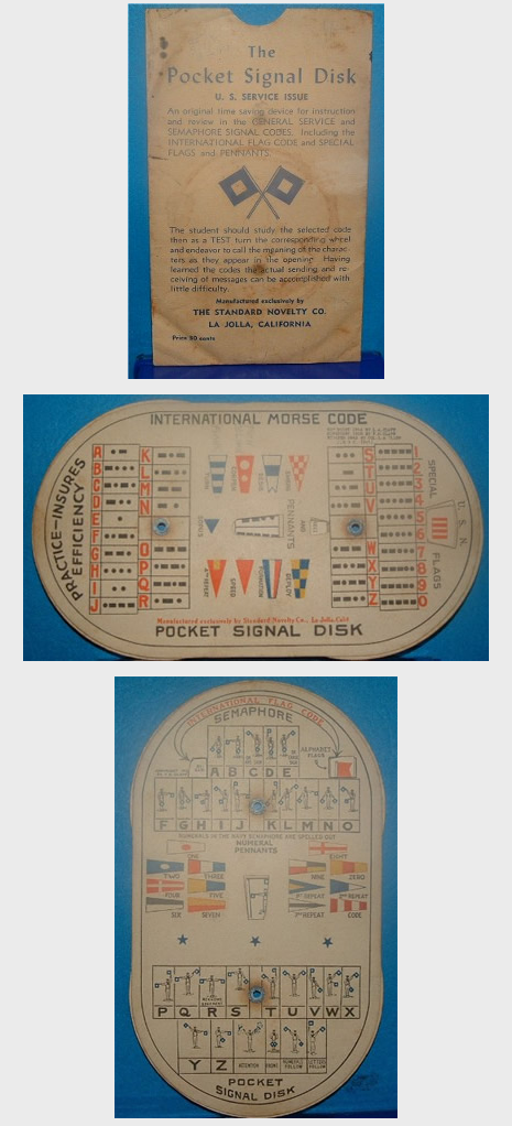 U.S. Service Issue Pocket Signal Disk