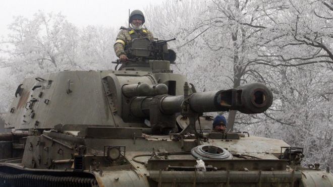 Five Ukraine troops die in heavy fighting with Luhansk rebels