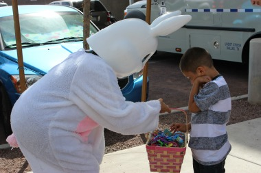 Wells Fargo Invites the Easter Bunny!