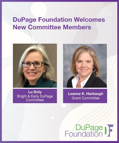 DuPage Foundation Welcomes New Committee Members