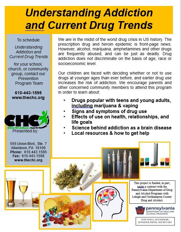 Understanding Addiction and Current Drug Trends