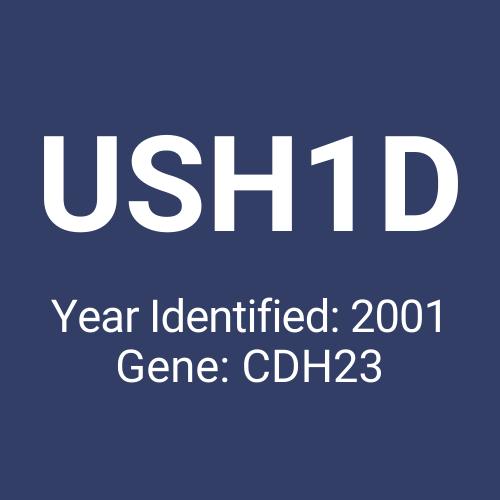 USH1D (Year Identified: 2001 | Gene: CDH23)