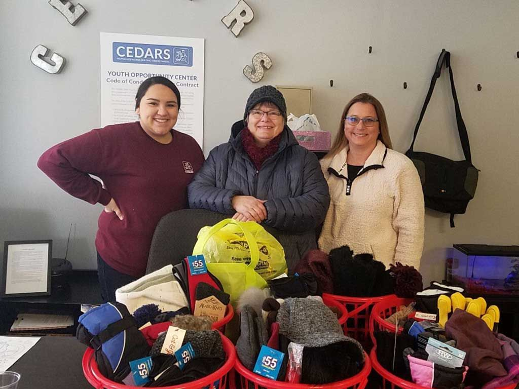 CEDARS Youth Opportunity Center Remained Open 24/7 During Dangerously Low Temperatures