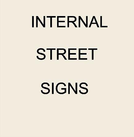 2. - KA20650 - Internal Street Signs