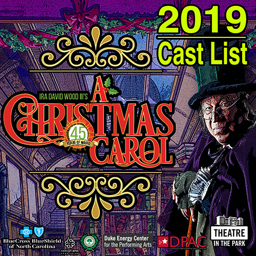 2019 Christmas Carol Cast List!