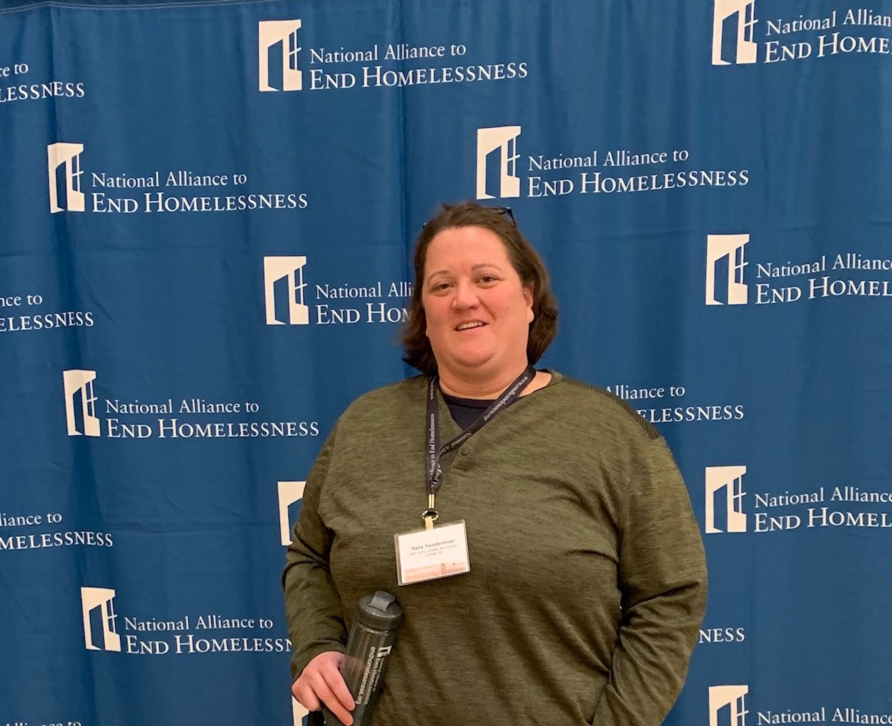 Outreach Coordinator Attends National Alliance to End Homelessness Conference