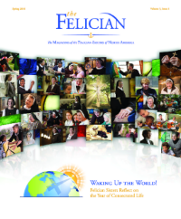 Felician Magazine Spring 2016 Cover Page