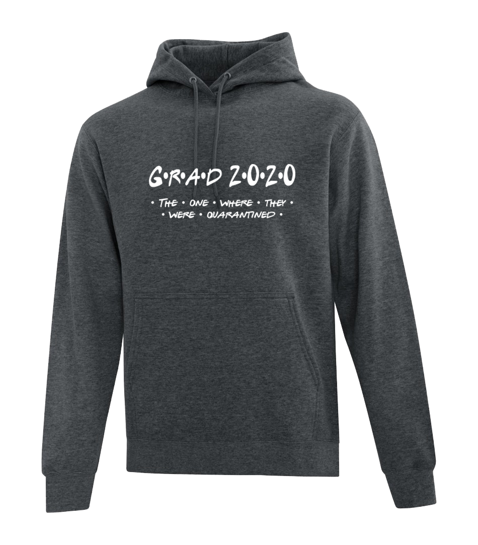 Grad 2020 Hoodie - The one where they were quarantined
