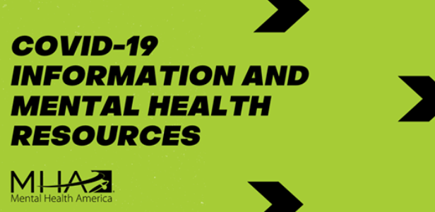 Mental Health Resources - COVID 19