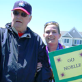 Noelle Hays and father, John