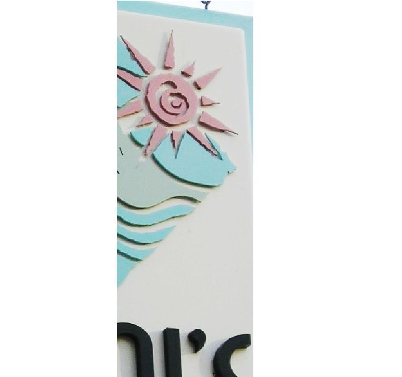 M5428 -Cutout Letters and Appliqué Art with Standoffs