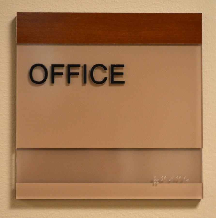 ADA Signage - Office