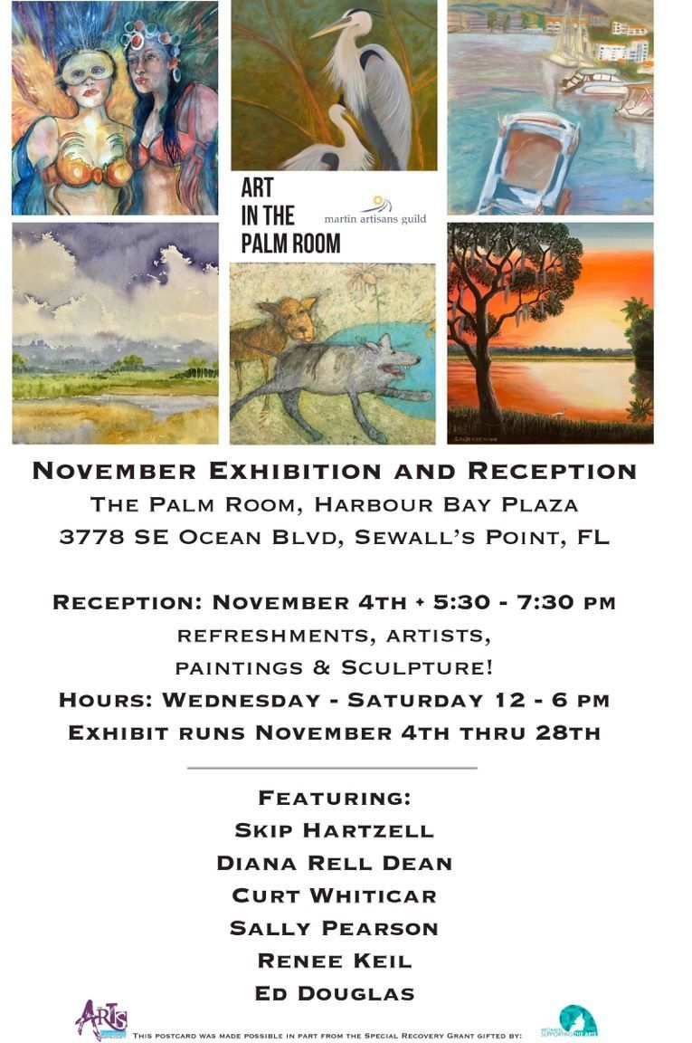 Martin Artisans Guild November Exhibition