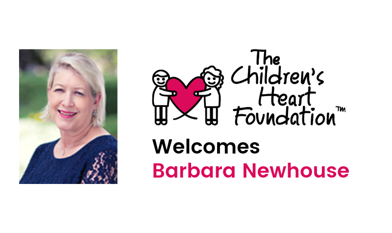 The Children's Heart Foundation's Board of Directors Names Barbara Newhouse as CEO