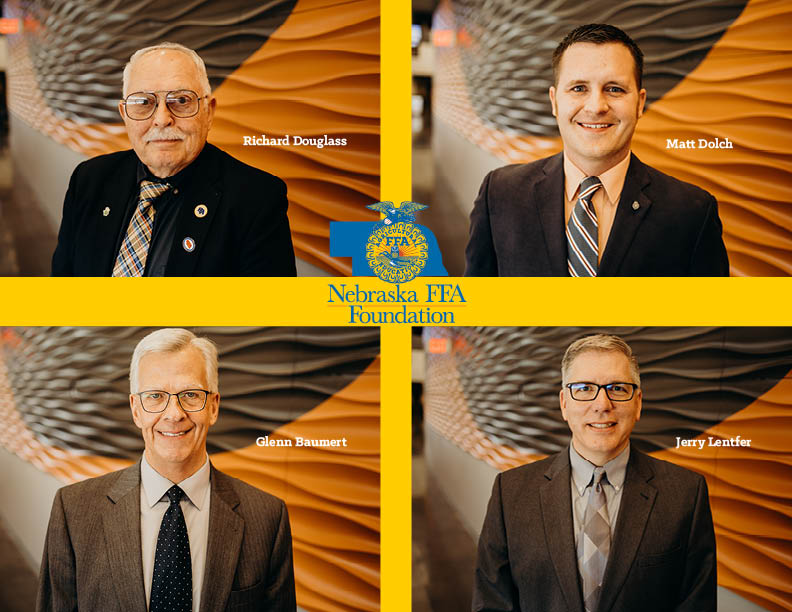 New Nebraska FFA Foundation Board Members