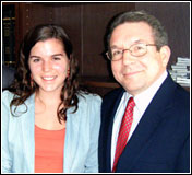 Emily Beisser and Larry Golbe