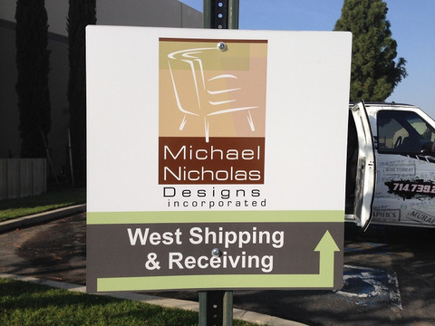 Directional and wayfinding signs for Orange County