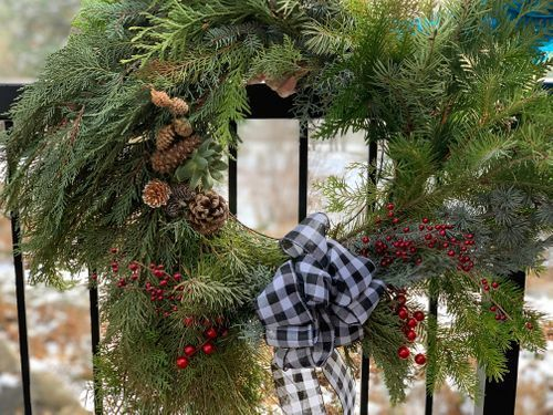 Winter Wreath Class - DIY Packets