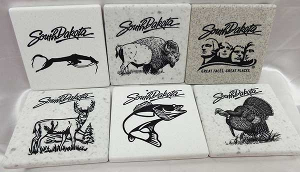 Stone Coaster (Various Designs)