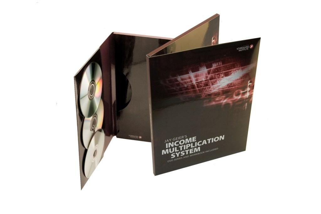 Three-DVD-Packaging-Folde- With-Pocket
