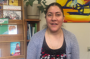 Meet Reyna from Literacy Network