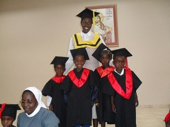 Pre-school Graduation St. Benedict- Windhoek
