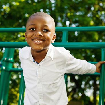 Boy At Playground - My Joyful Heart