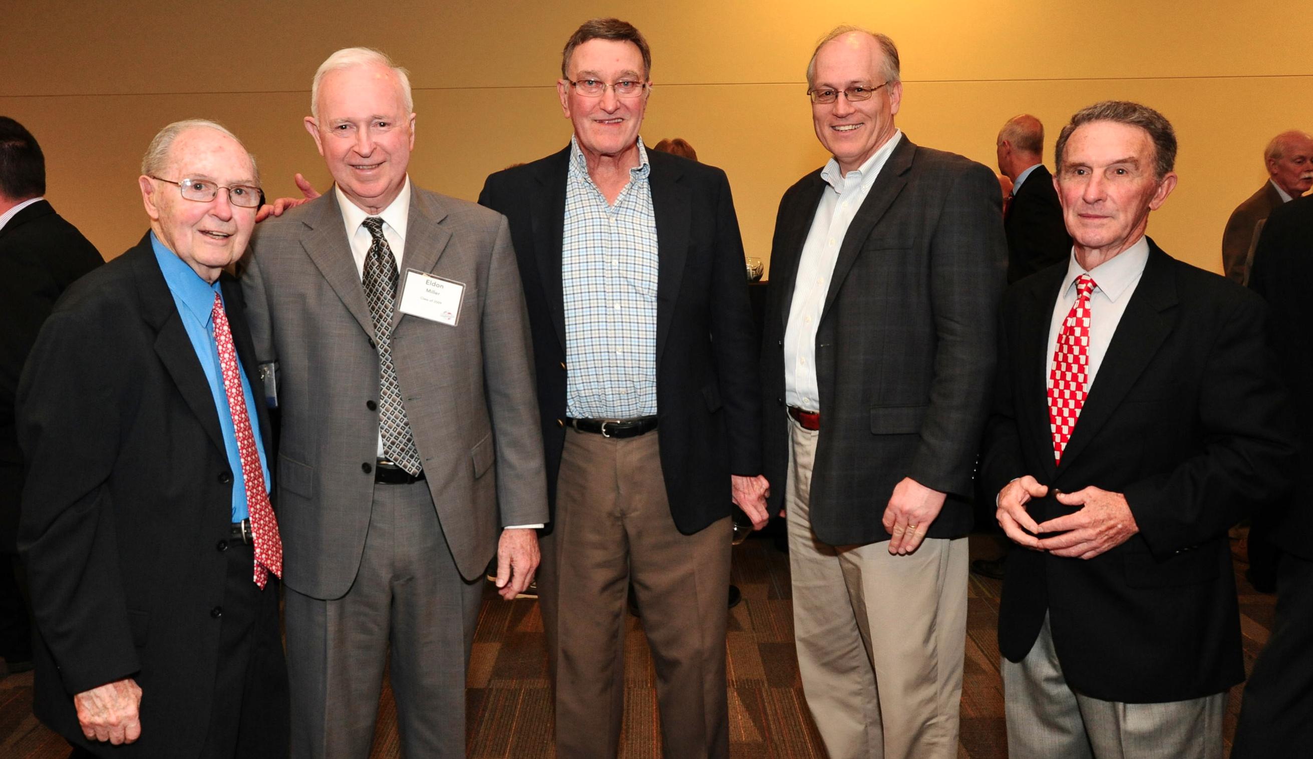 Don Henderson, Eldon Miller, Bob Hamilton, et al