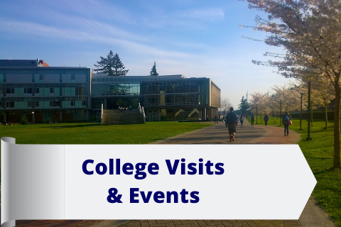 College Campus Visits and Events