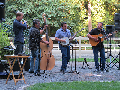BLUEGRASS & BBQ – GREAT MUSIC IN THE PARK AUGUST 20TH!