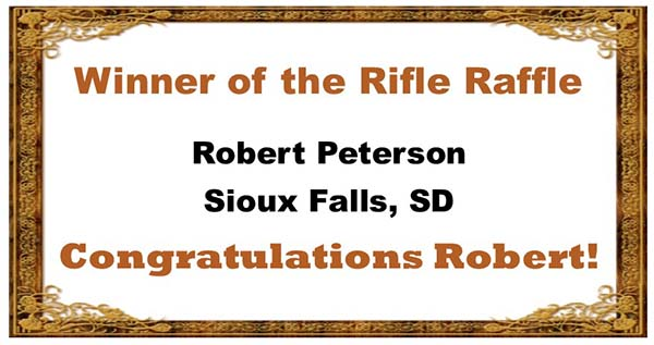 Rifle Raffle Winner
