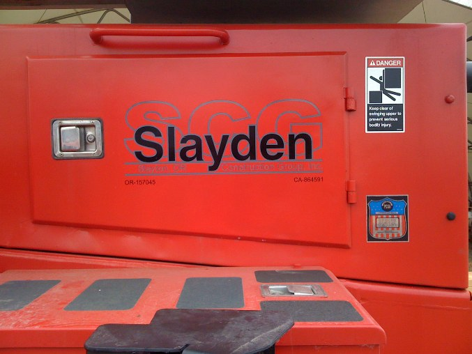 Slayden Graphic