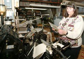 Letterpress Department